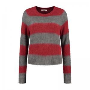 Grey/ red