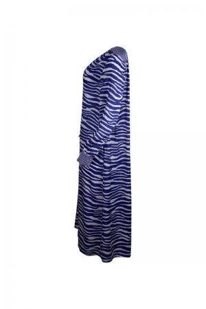 Zebra Blue